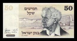 Israel 50 Sheqalim David Ben Gurion 1978 Pick 46a SC UNC - Israel