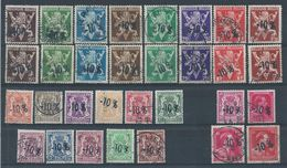 724 Q+a/c+d/n+o/v+oo/vv    Cote 26.45 - Used Stamps
