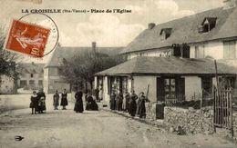 LA CROISILLE PLACE DE L'EGLISE - France