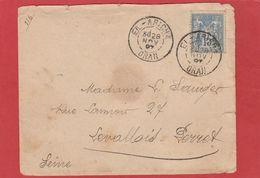 Algérie - CàD EL-ARICHA ORAN Sur Type Sage - LSC 1897 - Algérie (1924-1962)