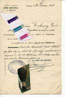 BASSE MEUSE / HERMALLE SOUS ARGENTEAU / JOHN COCKERILL / SERAING / - Documents Historiques
