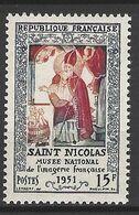 FRANCE 1951 TIMBRE 904 INAUGURATION DU MUSEE DE L IMAGERIE FRANçAISE A EPINAL LA  LEGENDE DE SAINT NICOLAS - Frankreich