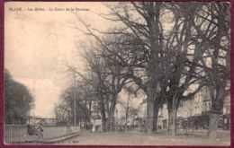 33 - B28296CPA - BLAYE - Les Allées - Le Cours De La Fontaine - Très Bon état - GIRONDE - Blaye