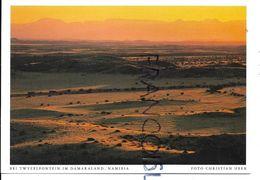 Coucher De Soleil Sur Twyeelfontein, Damaraland. - Namibia