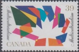 **Canada Scott 1270 NEW (MNH) - Multiculturalism: Maple Leaf With Multicoloured Design - Nuovi