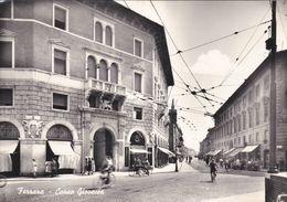 FERRARA - CARTOLINA - CORSO GIOVECCA - VIAGGIATA PER  GENOVA - Ferrara