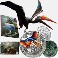 Autriche 2020 : 3€ 'Dinosaure' ('Arambourgiania') Colorisée - Disponible En France - Autriche