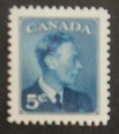 """CANADA YT 240 NEUF*MH """"GEORGE V"""" ANNÉES 1949/1951 - 1937-1952 Règne De George VI"""