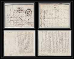 2115 Haute-Vienne Marque Postale Limoges 32x12 Indice 6 Pour Ravel Puy De Dome 10/11/1829 LAC Lettre Cover France - Marcophilie (Lettres)