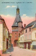 - St FARGEAU (89) -  Le Beffroi, Côté Est  (en Couleurs)  -21272- - Saint Fargeau