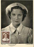 56431 Belgium, Maximum 1953 La Rincesse  Josephine Charlotte - Maximum Cards