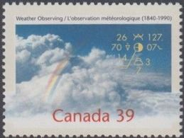 **Canada Scott 1287i NEW (MNH) - Weather Observing: Rainbow In Clouds - Nuovi