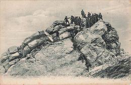 38 Grande Chartreuse Regiment De Chasseurs Alpins Chasseur Alpin Soldat Militaire Passage Difficile - Chartreuse