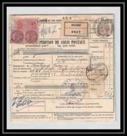 25155 Bulletin D'expédition France Colis Postaux Fiscal SNCF NORD 27/5/1943 POUR Zollamt Göppingen Allemagne (germany) - Colis Postaux