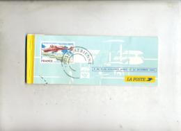 Carnet De Cheque Vide Theme Avion Concorde - Documenten Van De Post