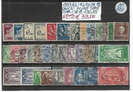 IRLANDA ʘ 1937/1946 SOGGETTI VARI - 1937-1949 Éire