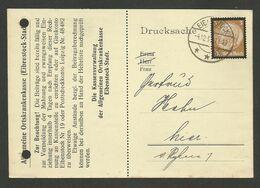 Drucksache EIBENSTOCK 04.12.1934 - Covers & Documents