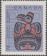 **Canada Scott 1296 NEW (MNH) - Christmas (Native Nativity): Children And The Raven - Nuovi