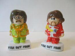 Fèves Brillantes - Far Out Four X 2 - Weenicons Musique - Arguydal - Characters