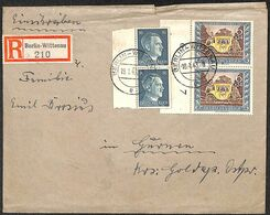 Deutsches Reich 1943 Berlin Wittenau Registered Mail  (fixed Price) - Unclassified