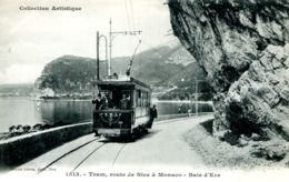 N°2479 R -cpa Tram Route De Nice à Monaco -baie D'Eze- - Tramways