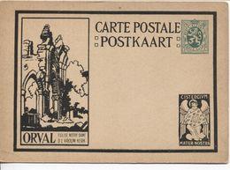 REF1483/ Entier CP Illustrée Série ORVAL 5-b 2 Eglise Notre Dame O.L.Vrouw Kerk  MINT - Illustrierte Karten