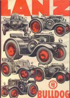 REICH - LANZ  BULLDOG  TRACTOR   ADVERT. 297x210 Mm - 1932 - Tracteurs