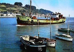SAINT BRIEUC  (22)  Bateau De Pêche Chalutier 1967   ( Trawler Fishing Boat - Vissersboot  - Fischerboot) - Pesca