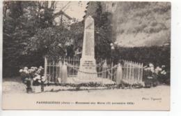 CP ( Pannessiéres - Monument Aux Morts ) - Frankreich