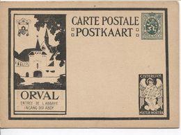 REF1484/ Entier CP Illustrée Série ORVAL 5-b 3 Entrée De L'Abbaye - Ingang Der Abdy  MINT - Illustrierte Karten