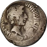 Monnaie, Octavian, Denier, 37 BC, Atelier Incertain, TB+, Argent, Crawford:538/1 - 1. The Julio-Claudians (27 BC To 69 AD)