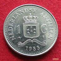 Netherlands Antilles 1 Gulden 1983 KM# 24  Antillen Antilhas Antille Antillas - Antillen (Niederländische)