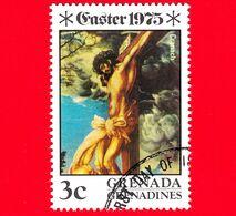 Grenada Grenadine - 1975 - Pasqua - Dipinti Della Crocifissione - La Crocifissione -  Lucas Cranach Il Vecchio - 2 - Grenada (1974-...)