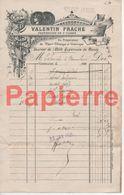 744 Vaucouleurs (55) Facture Valentin Frache Pharmacien De 1ère Classe Pour  Vaucouleurs 1904 - Francia