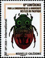 Nouvelle-Calédonie 2020 - Insecte, Conférence Biodiversité Pacifique - 1 Val Neuf // Mnh - New Caledonia