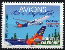 Nouvelle-Calédonie 2020 - Avions A330 D'aircalin - 1 Val Neuf // Mnh - Nouvelle-Calédonie