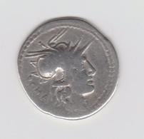REPUBLIQUE ROMAINE -DENIER EN ARGENT - 120 AV. J.-C. - 1. Röm. Republik (-280 / -27)