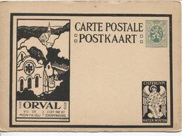 REF1486/ Entier CP Illustrée Série ORVAL 5-b 6 Vu De Montaigu - Zicht Van Uit Scherpenheuvel  MINT - Illustrierte Karten