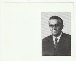 Doodsprentje Albert LAMBRECHTS Echtg. De Smedt Burgemeester Berlaar 1915 Lier 1988 Zaakvoerder Brouwerij Lambrechts - Santini
