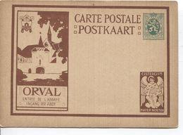 REF1487/ Entier CP Illustrée Série ORVAL 5-a 3 Entrée De L'Abbaye - Ingang Der Abdy   MINT - Illustrierte Karten