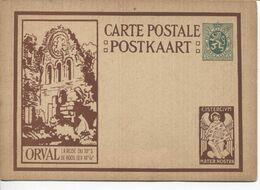 REF1488/ Entier CP Illustrée Série ORVAL 5-a La Rose Du XII° S -  De Roos Der XII° Ee  MINT - Illustrierte Karten
