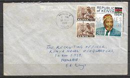 USED AIR MAIL COVER KENYA - Kenia (1963-...)