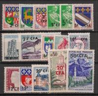 Réunion - 1961-65 - N°Yv. 342 à 352A - Série Complète - Neuf Luxe ** / MNH / Postfrisch - Réunion (1852-1975)