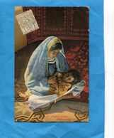 MAROC -1913-jeune Maman  Gros Plan  *-Affranchissement Poste Chérifienne 1913  -pour Françe - Locals & Carriers