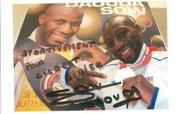 BOXE - DOUADA SOW ....Signature....Autographe Véritable..... - Handtekening