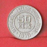 BRAZIL 50 REIS 1919 -    KM# 517 - (Nº36383) - Brazil