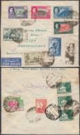 Perse 1953 - Lettre Recommandée Par Avion De Téhéran à Destination Plzen-Tchecoslovaquie..........  (VG) DC-7796 - Iran