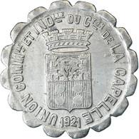 Monnaie, France, Union Commerciale Et Industrielle, La Capelle, 10 Centimes - Monétaires / De Nécessité