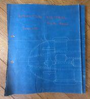 """010888 """"TORINO - RIVOLI / AUTOVETT. ELETTR. FIAT MATERFER COMM. 022 - 1937"""" CIANOGR. ORIG. CON TITOLO AUTOGRAFO - Macchine"""