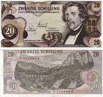 AUSTRIA 20 Schilling 1967 See Scan Photo Pick #142 - Austria